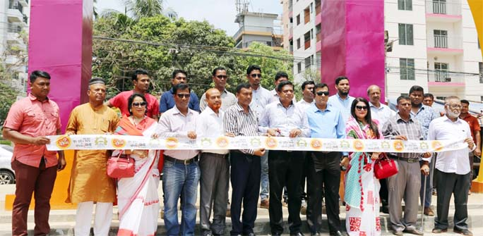 The month-long Small and Cottage Industries and Business Fair was inaugurated in Halisahar on Monday.
