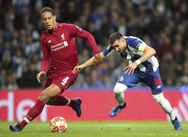 Liverpool beat Porto again, return to CL semifinals