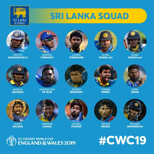 Sri Lanka dump Chandimal, bring back Thirimanne for World Cup