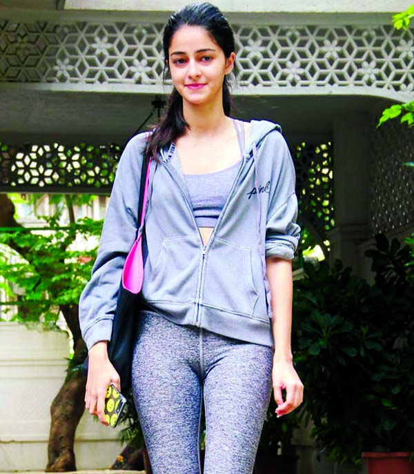 Ananya Panday is binging on between breaks
