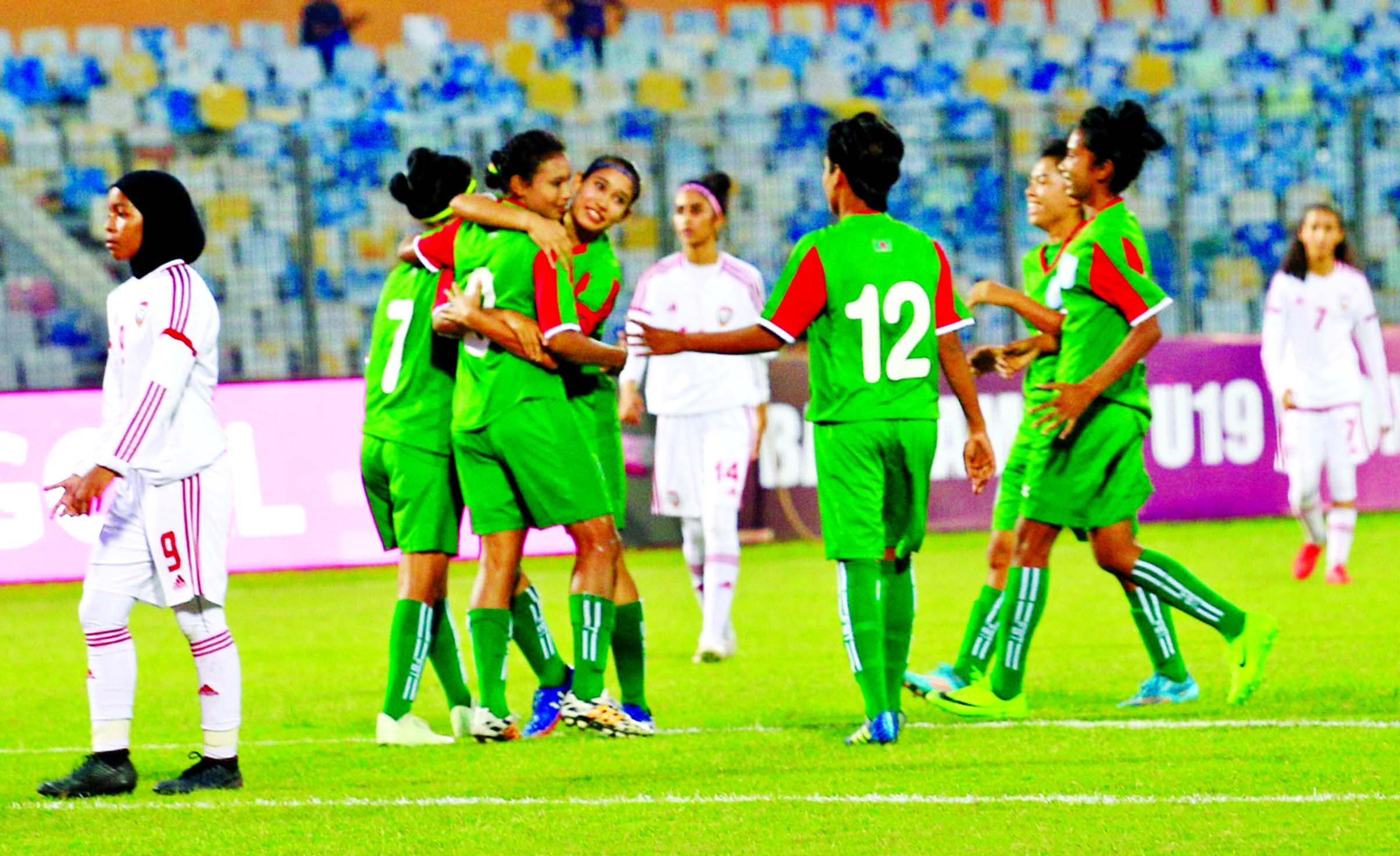 BD get off to flying start beating UAE 2-0