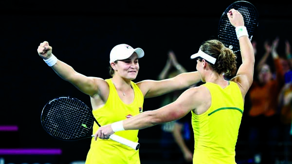 Australia beat Belarus 3-2 to face France in Fed Cup final