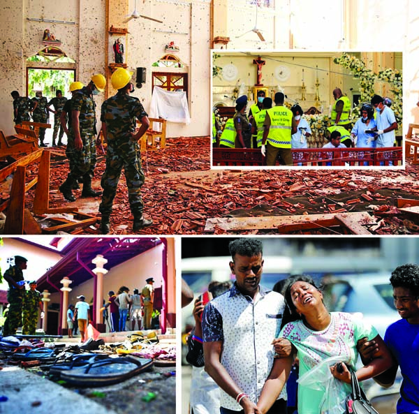 290 killed, over 500 hurt in SL blasts