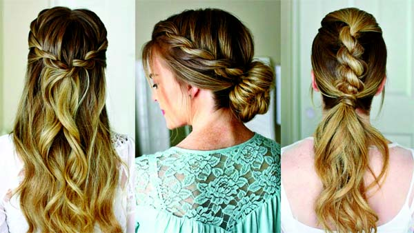 Simple hairstyles can try out this summer