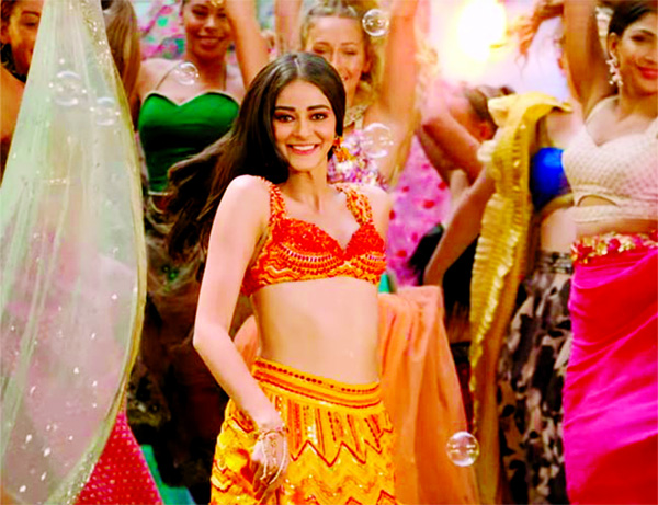 Ananya Panday rocks this traditional look in her new song