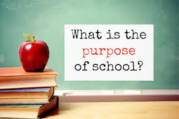 The main purpose of schooling
