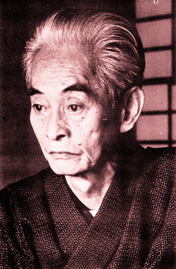 Nobel Laureate novelist Yasunari Kawabata