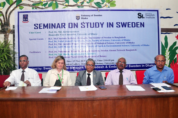 Seminar on Study in Sweden at DU