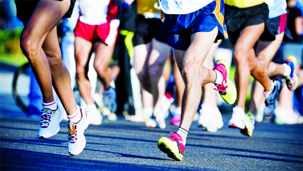 Completing first-time marathon 'reverses'  ageing of  blood vessels