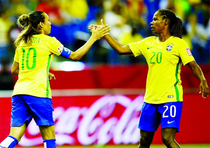 Marta and Formiga head Brazil Women's World Cup squad
