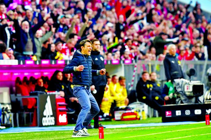 Favre, Kovac face old friends as Bundesliga finale grips Germany