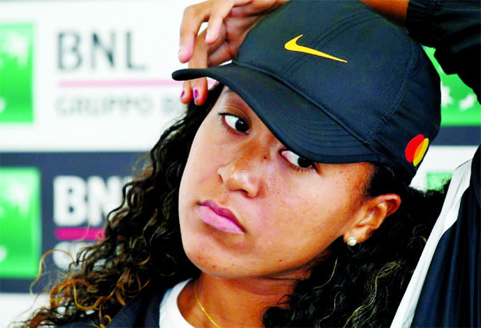 'Sad and disappointed' Osaka pulls out of Rome in French Open scare