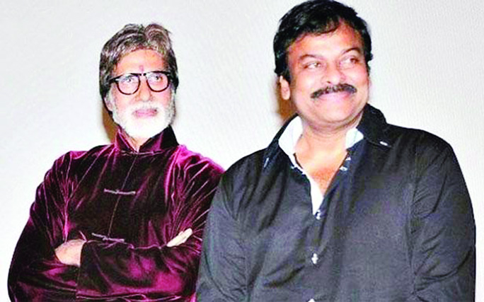 Tragedy hits the sets of Amitabh,Chiranjeevi's next
