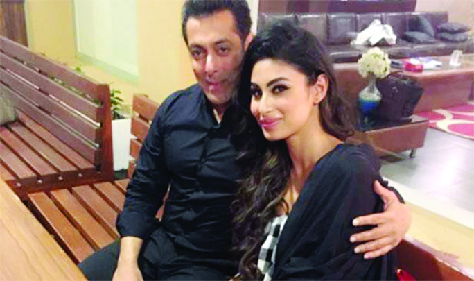 Salman ,Mouni Roy to shoot an item number for Dabangg 3 soon