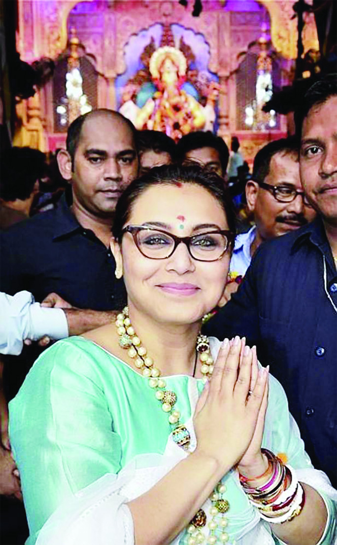 Rani Mukerji heads to Rajasthan to shoot for Mardaani 2