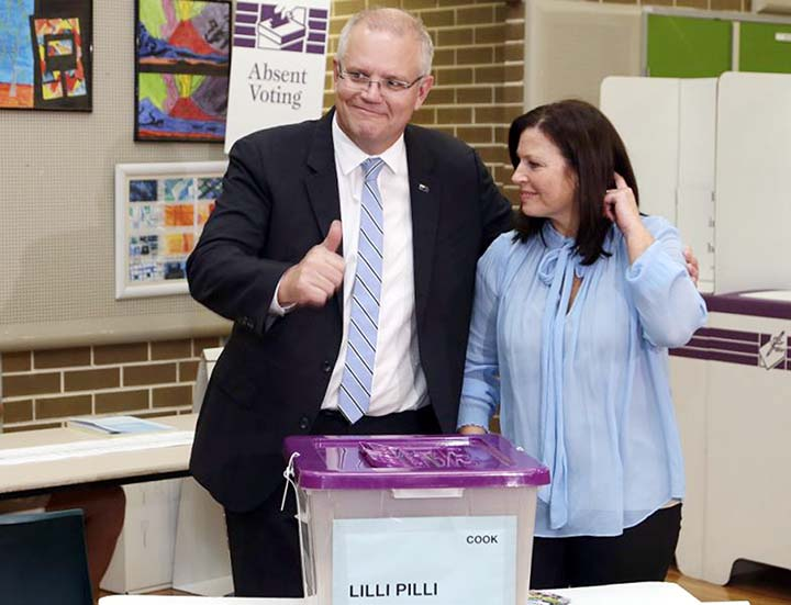 Australian election vote count reveals close contest