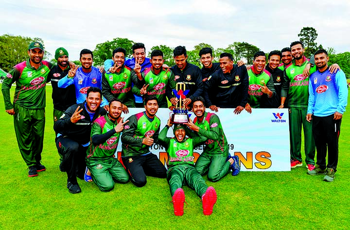 Bangladesh beat West Indies to win maiden title in multinational event