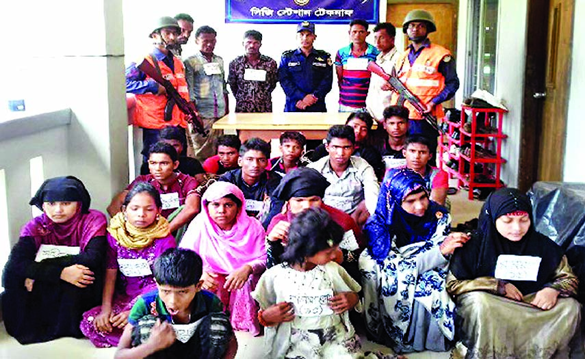 84 Rohingyas rescued in Cox`s Bazar from traffickers