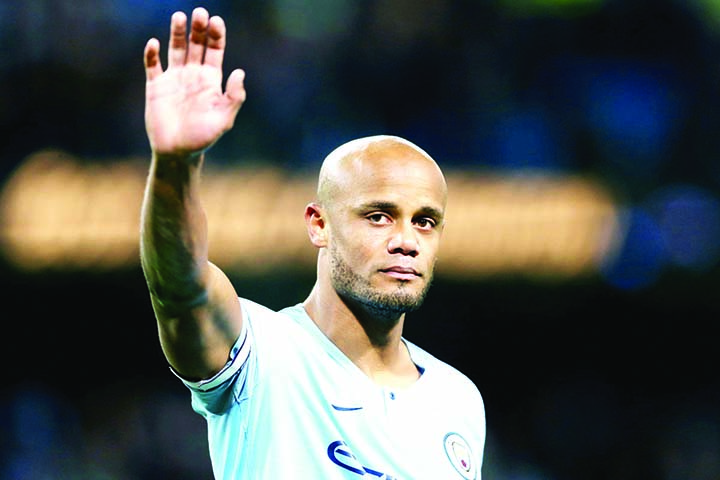 Kompany leaves Manchester City after 11 years
