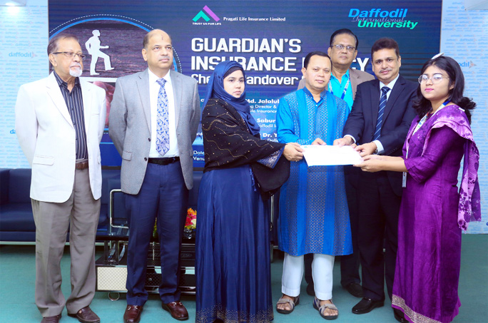 Guardian's Ins Policy to survive academic life of students at DIU