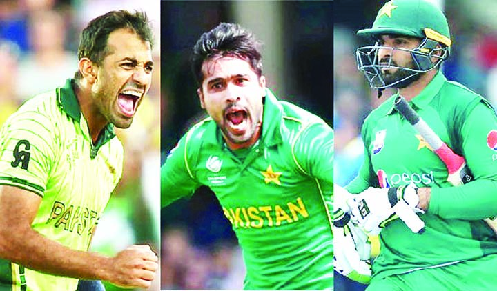 Pakistan recall Asif, Amir and Wahab in World Cup squad