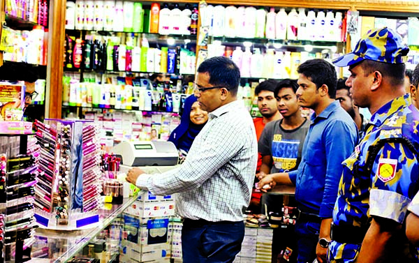 Fake cosmetics hit Eid markets