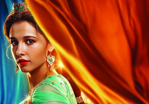I see Jasmine as resilient and  independent : Naomi Scott
