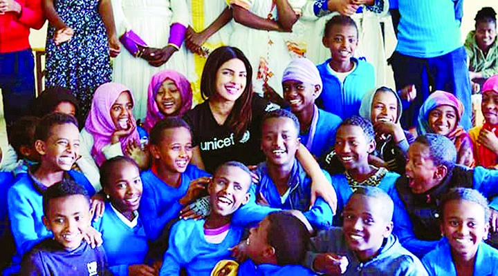 After Cannes, Priyanka Chopra is in Ethiopia