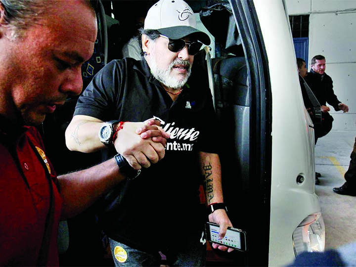 Maradona to undergo shoulder surgery