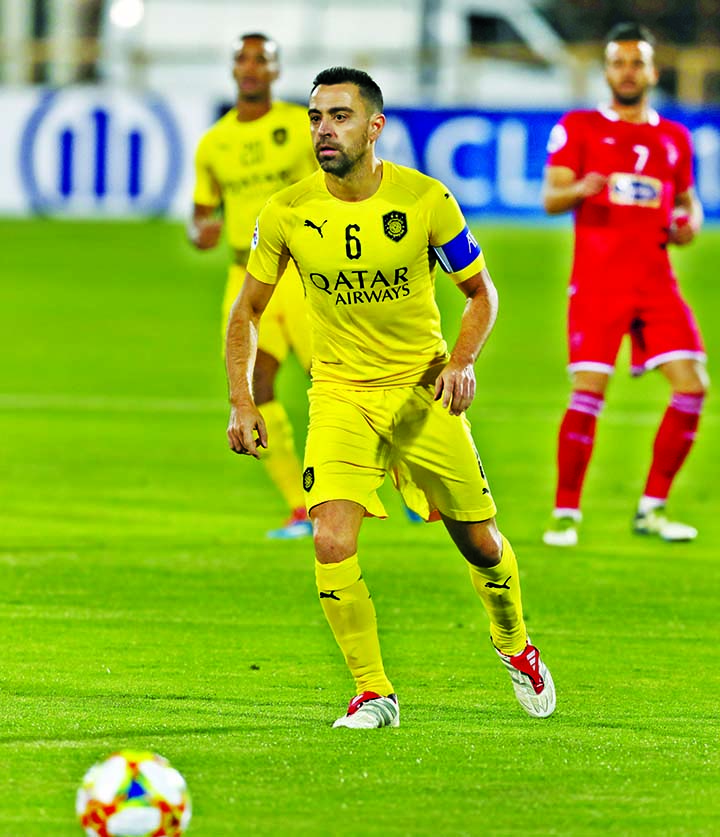 Xavi's last match ends in defeat for Al Sadd