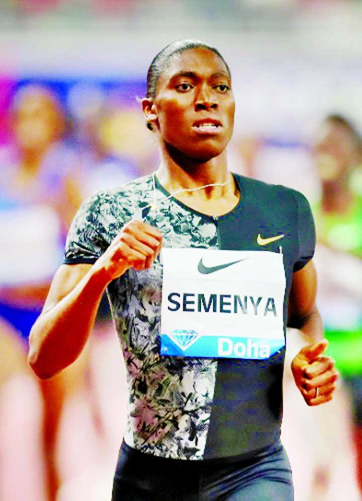 Semenya to race 3,000m at Diamond League's Prefontaine