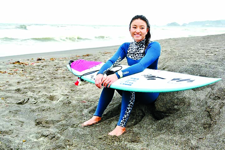 Japan hot-shot Matsuda eyes Olympic surf gold