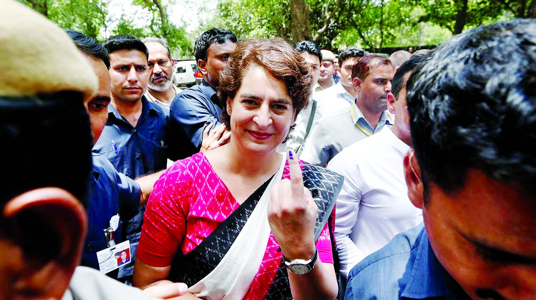 Exit polls just to discourage Congress workers: Priyanka