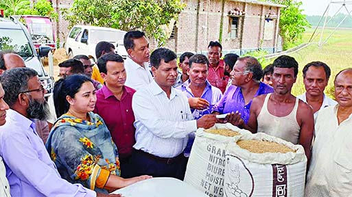 Direct paddy purchase from farmers starts