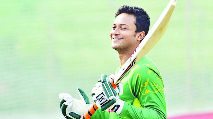 Shakib grabs top spot in ODI all-rounders' ranking