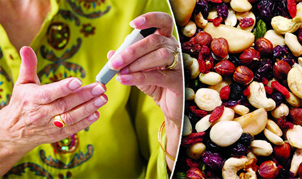 Nut  consumption might increase blood sugar levels in diabetics