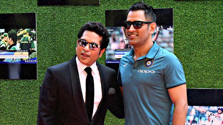 Sachin reveals ideal batting position for MS Dhoni
