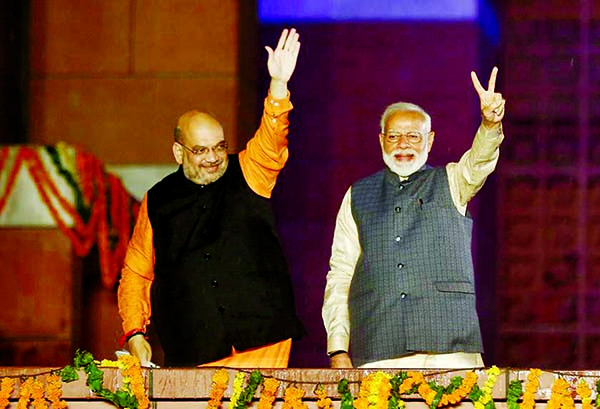 Big win for Narendra Modi,  Congress admits defeat