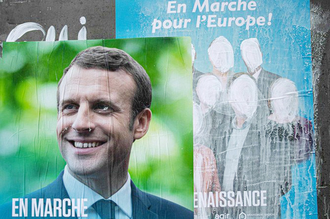 Macron's ambitions face test in high-stakes EU polls