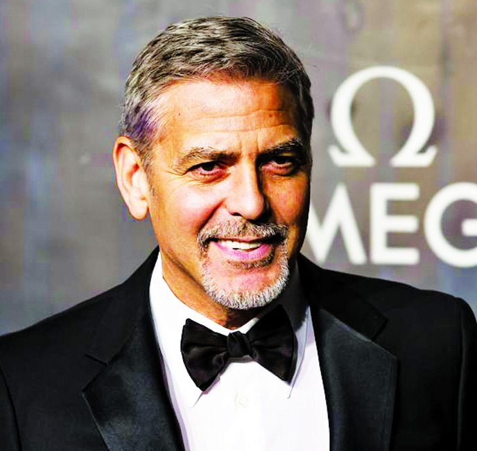 George Clooney: 'I said to myself,' If he  lives, I'll never ride a motorcycle again