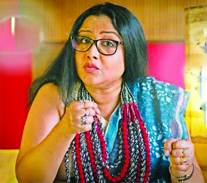 Reshmi Sen engrossed with Kasturba Gandhi's character