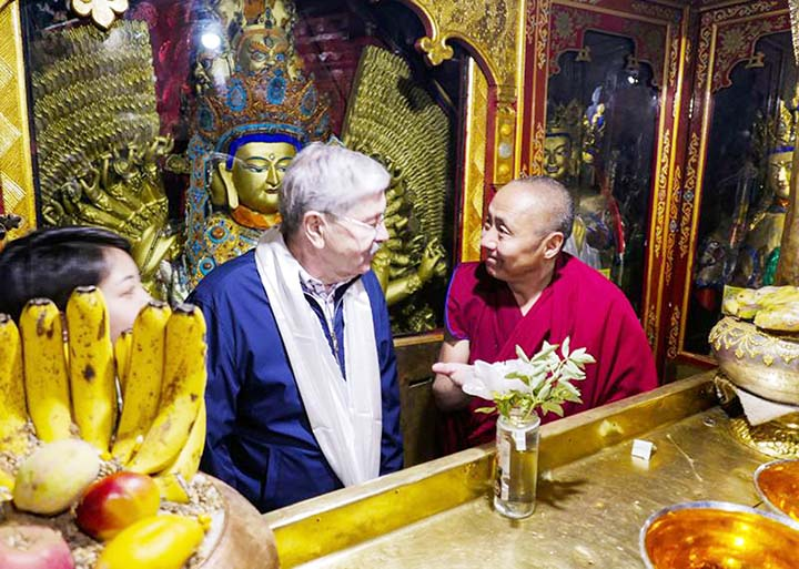 US Ambassador raises concerns during rare Tibet visit
