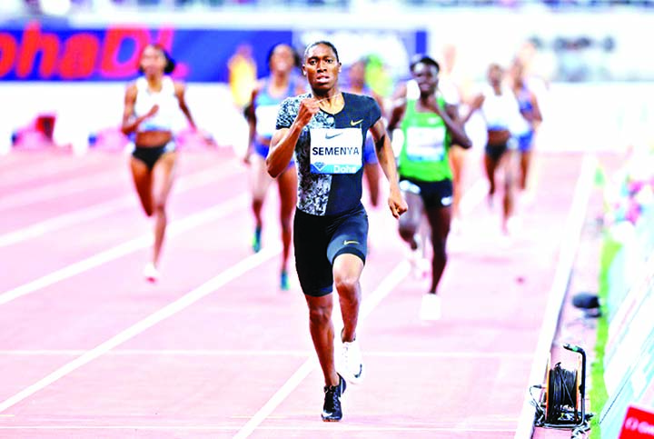 Semenya to return to track in 2,000 metres race in France