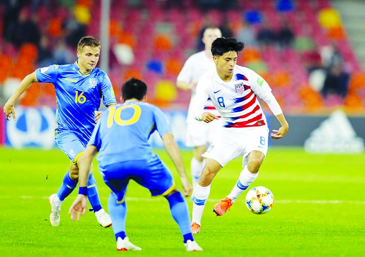 US lose Under-20 World Cup opener 2-1 to Ukraine