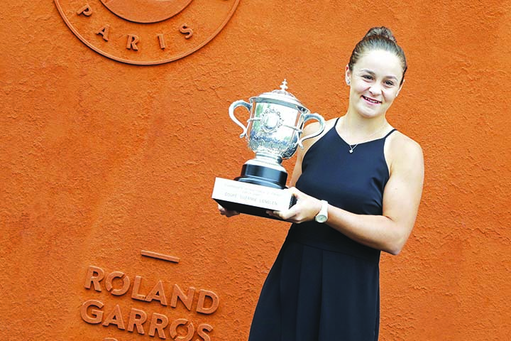 Aussies hail new clay queen Barty
