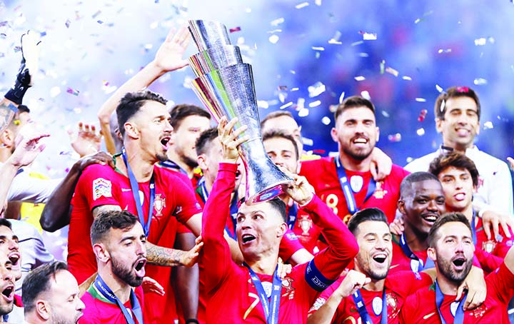Portugal defeat Netherlands to win first Nations League title