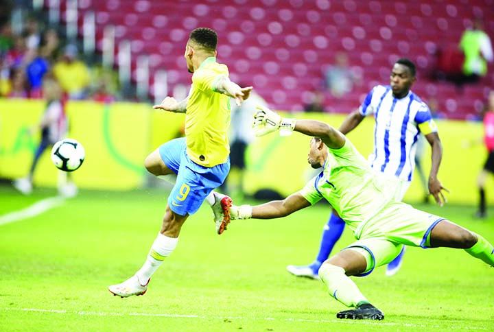 Brazil rout Honduras 7-0 in Copa tuneup