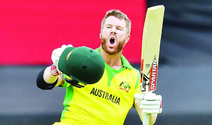 The hundred was a long time coming: David Warner