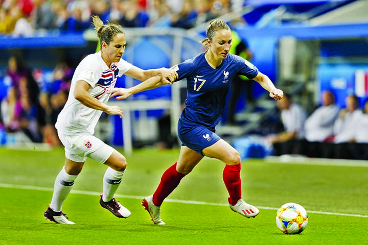 France beat Norway 2-1 to remain undefeated in World Cup