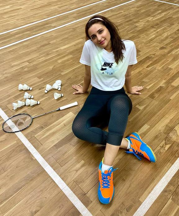 Parineeti Chopra is 'still' learning how to play badminton